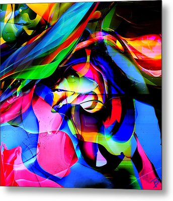 In My Dreams 2 Metal Print by Barbs Popart