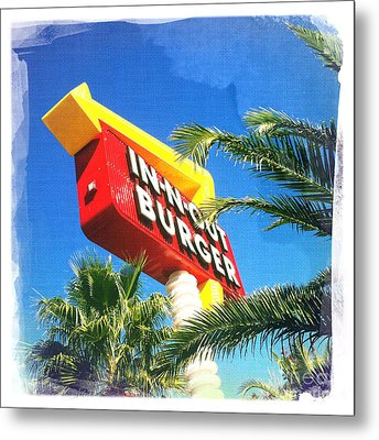In-n-out Burger Metal Print
