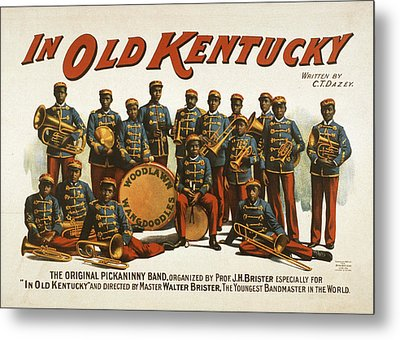 In Old Kentucky Metal Print by Aged Pixel