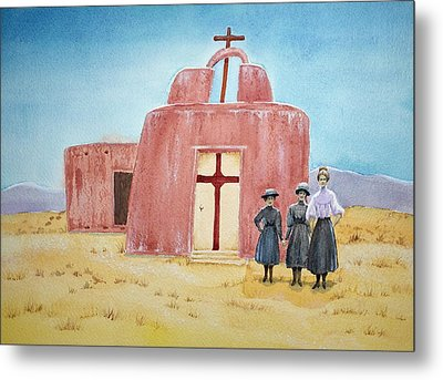 In Old New Mexico II Metal Print by Michele Myers