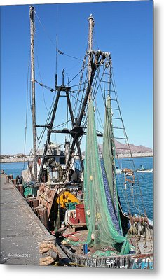 Metal Print featuring the photograph In Port by Dick Botkin