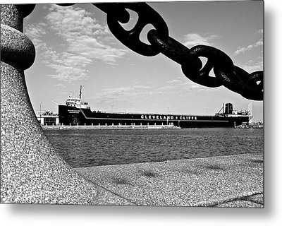 In Port Metal Print by Frozen in Time Fine Art Photography