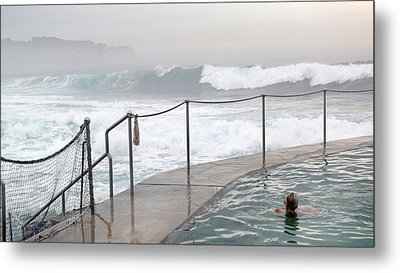 Metal Print featuring the photograph In Safe Waters by Evelyn Tambour