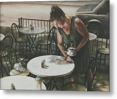 In The Absence Of A Dream Metal Print by Yvonne Wright