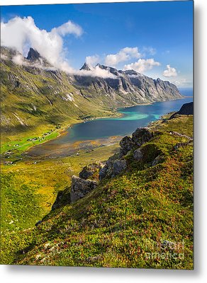 Metal Print featuring the photograph In The Arctic Circle by Maciej Markiewicz
