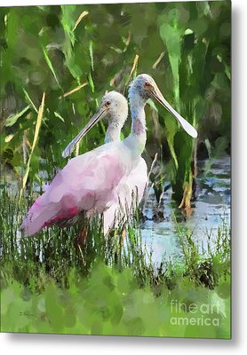 Metal Print featuring the photograph In The Bayou #2 by Betty LaRue