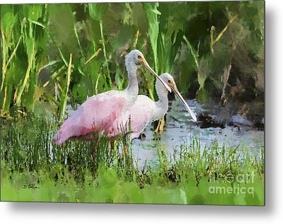 Metal Print featuring the photograph In The Bayou #3 by Betty LaRue