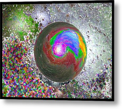 In The Beginning 2nd Generation Metal Print by Glenn McCarthy Art and Photography