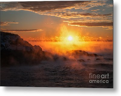 In The Beginning Metal Print by Scott Thorp