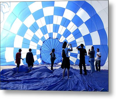 Metal Print featuring the photograph In The Blue by Christopher McKenzie