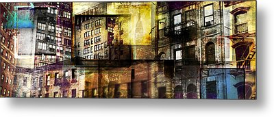 In The City Metal Print by Jeff Klingler