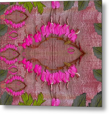 In The Eye Of The Koi Pop Art Metal Print