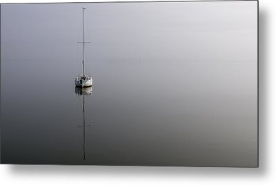 Metal Print featuring the photograph In The Fog by Gregg Southard