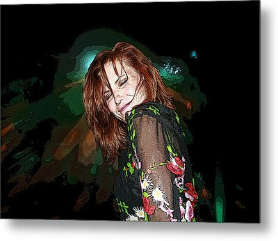 In The Groove Metal Print by Ellen Henneke