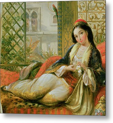 In The Harem Metal Print by Anonymous