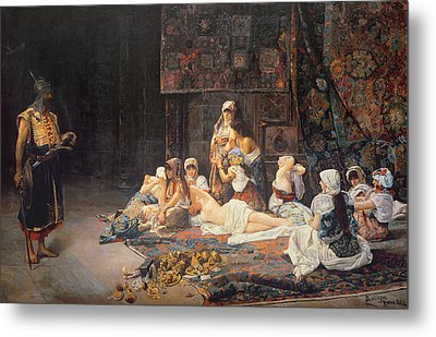 In The Harem Metal Print by Jose Gallegos Arnosa