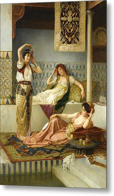 In The Harem Metal Print by Vincent Stiepevich