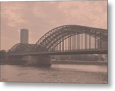 In The Heart Of Cologne Metal Print