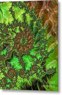 In The Jungle  Metal Print by Heidi Smith