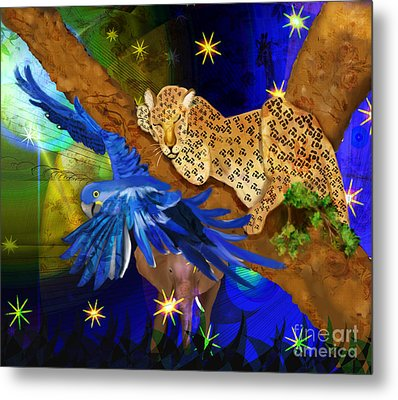 In The Jungle Metal Print by Sydne Archambault