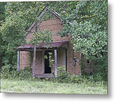 In The Middle Of Nowhere Metal Print by Ann Horn