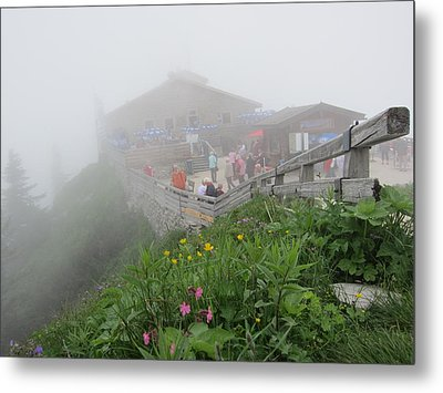 Metal Print featuring the photograph In The Mist by Pema Hou