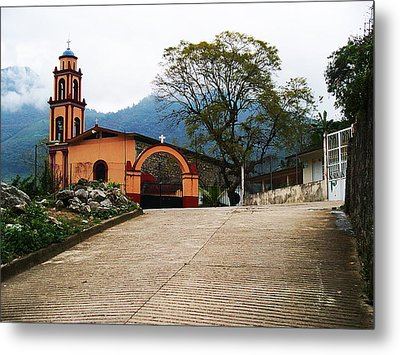 In The Mountains Of Mexico Metal Print by Joy Nichols