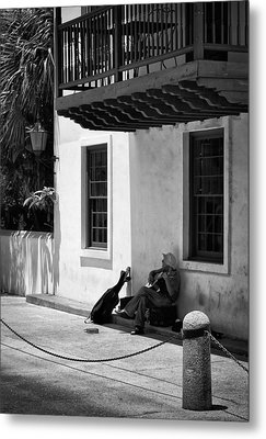 Metal Print featuring the photograph In The Shade by Greg Jackson