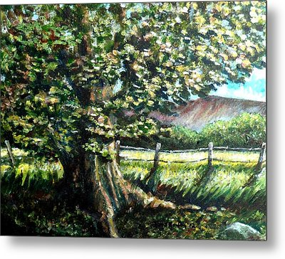 In The Shade Metal Print by Shana Rowe Jackson