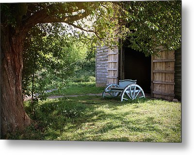 In The Shade Metal Print by Stephen Norris