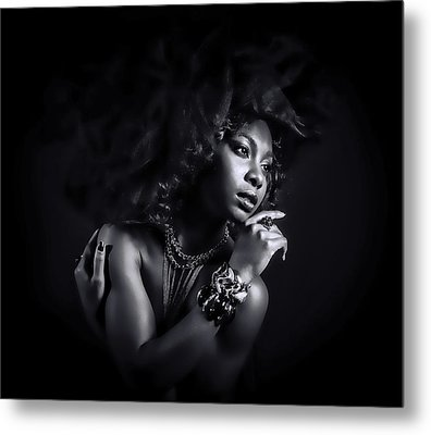 Metal Print featuring the photograph In The Shadows by Brian Tarr