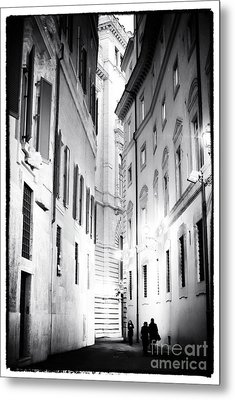 In The Shadows Metal Print by John Rizzuto