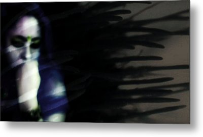 Metal Print featuring the photograph In The Shadows Of Doubt  by Jessica Shelton