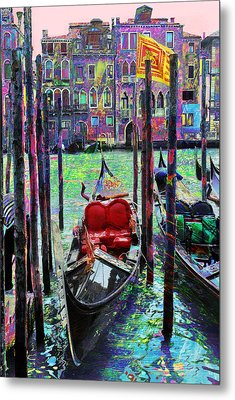In The Stable Metal Print by Steven Boone