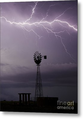 In The Still Of Night Metal Print