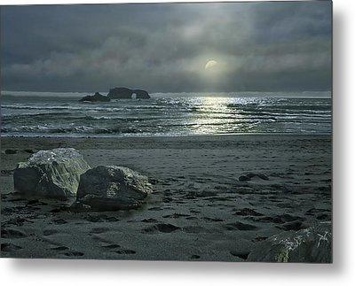In The Still Of The Night Metal Print by Judy  Johnson