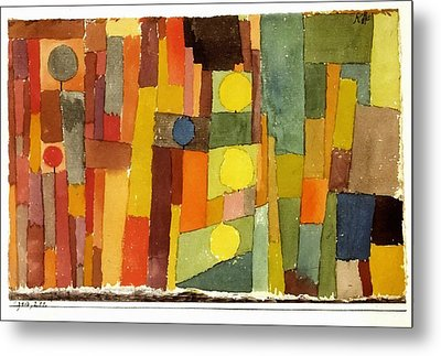 In The Style Of Kairouan Metal Print by Paul Klee