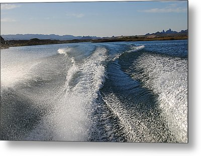 In The Wake Of Lake Havasu Az  Metal Print