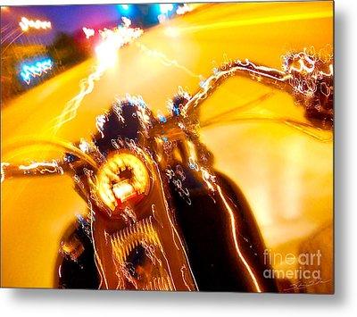 In The Wind Metal Print by Gem S Visionary