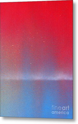 Metal Print featuring the painting In This Twilight by Roz Abellera Art