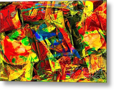 In Times Of Stress ... Metal Print by Gwyn Newcombe