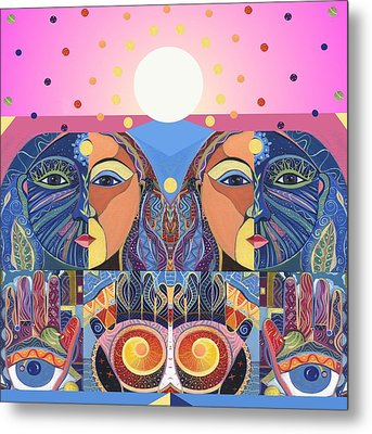 In Unity And Harmony Metal Print by Helena Tiainen