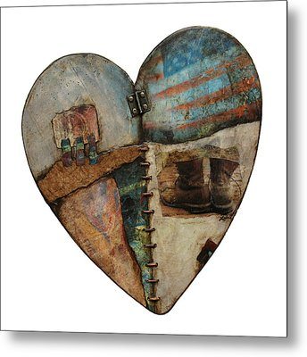 In Your Boots  Metal Print by Laura  Lein-Svencner