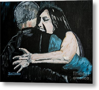 In Your Daddy's Arms Again Metal Print by Ian Donley