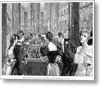 Inaugural Ball, 1893 Metal Print