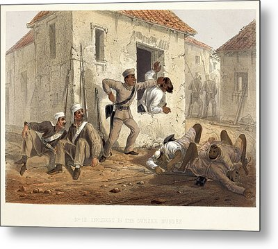 Incident In The Subzee Mundee Metal Print