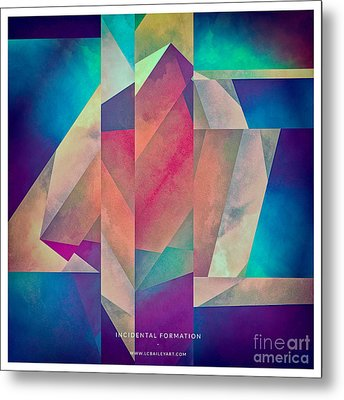 Incidental Formation Metal Print by Lonnie Christopher