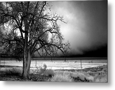 Incoming Storm Metal Print by Cat Connor