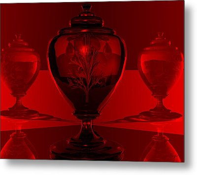 Metal Print featuring the digital art Incubation by John Pangia