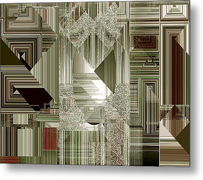Metal Print featuring the painting Indecision I by RC deWinter